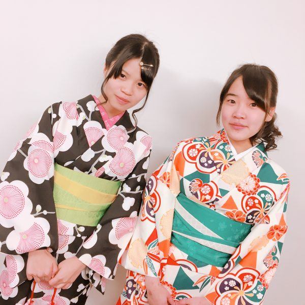祇園店 2月5日本日の着物レンタルのお客様です^^