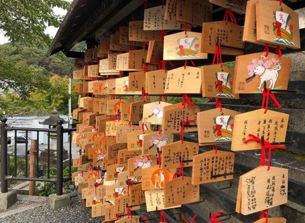 着物を着て、京都の縁結びの神社で恋愛成就を願おう!