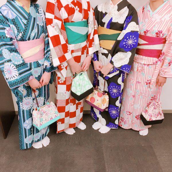 祇園店 2月8日本日の着物レンタルのお客様です^^