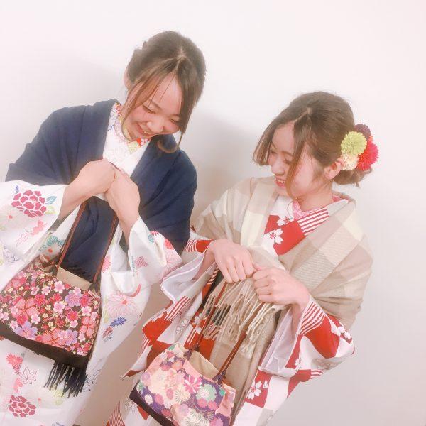 祇園店 2月4日本日の着物レンタルのお客様です^^